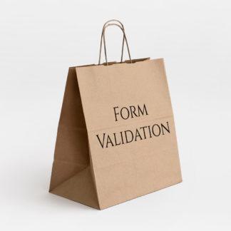 WS Form PRO WooCommerce Demo - Form Validation